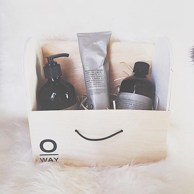 My hair #spa at home ❤️ Amo i prodotti #oway, il packaging poi è così carino che si può riutilizzare in tanti modi