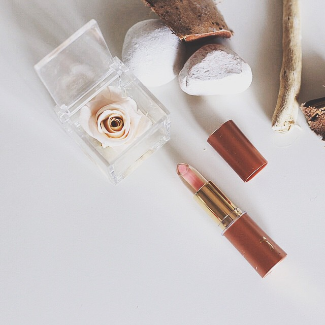 Tryin' some beauty products just for you  thanks #mediterranea #lipstick #cosmetics #closeup