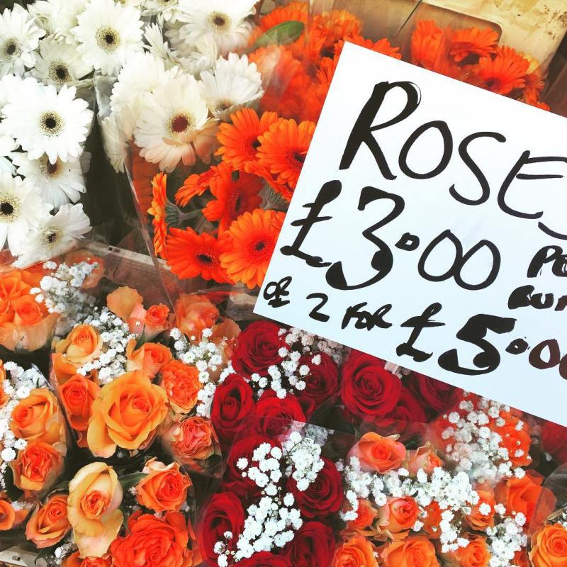 Columbia Flower Market in Sunday  #columbiaflowermarket #flowermarket #londonlife #sundaymorning