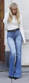 flare jeans jeans a zampa