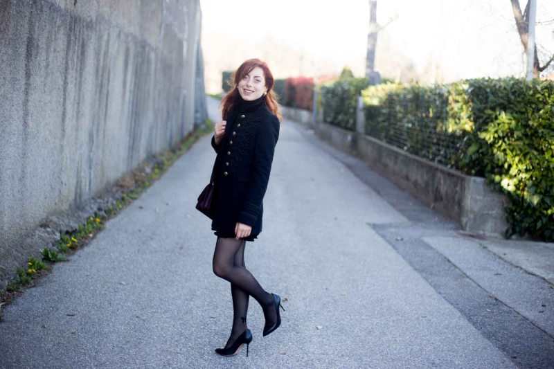 Outfit giacca militare