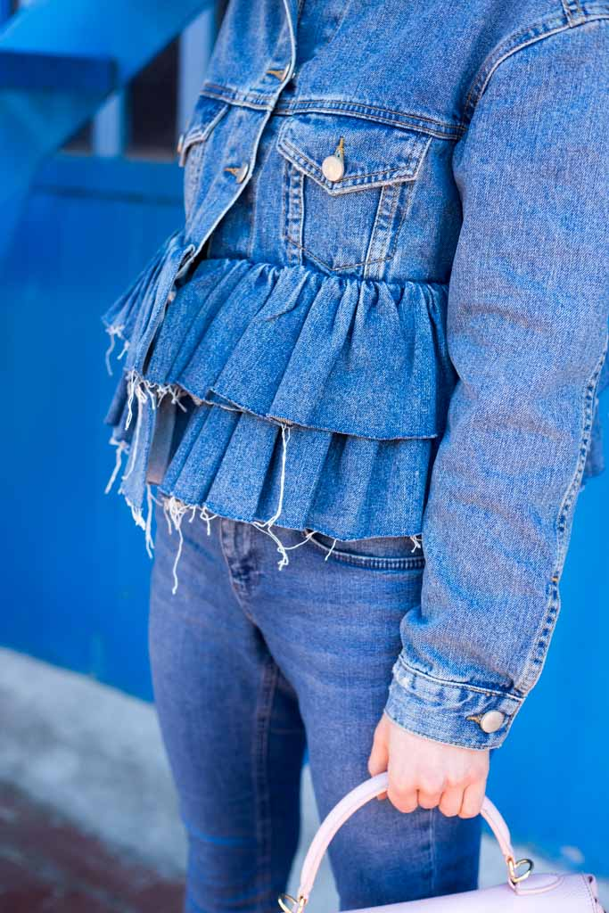 giacca jeans asos