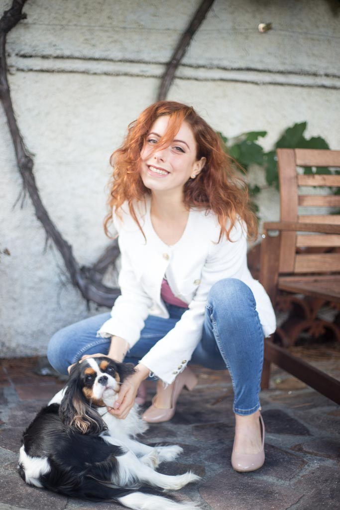 outfit con cavalier king charles spaniel