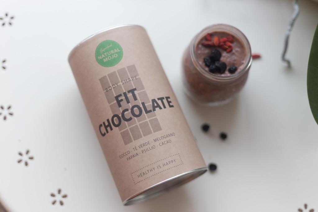 natural mojo overnight porridge fit chocolate