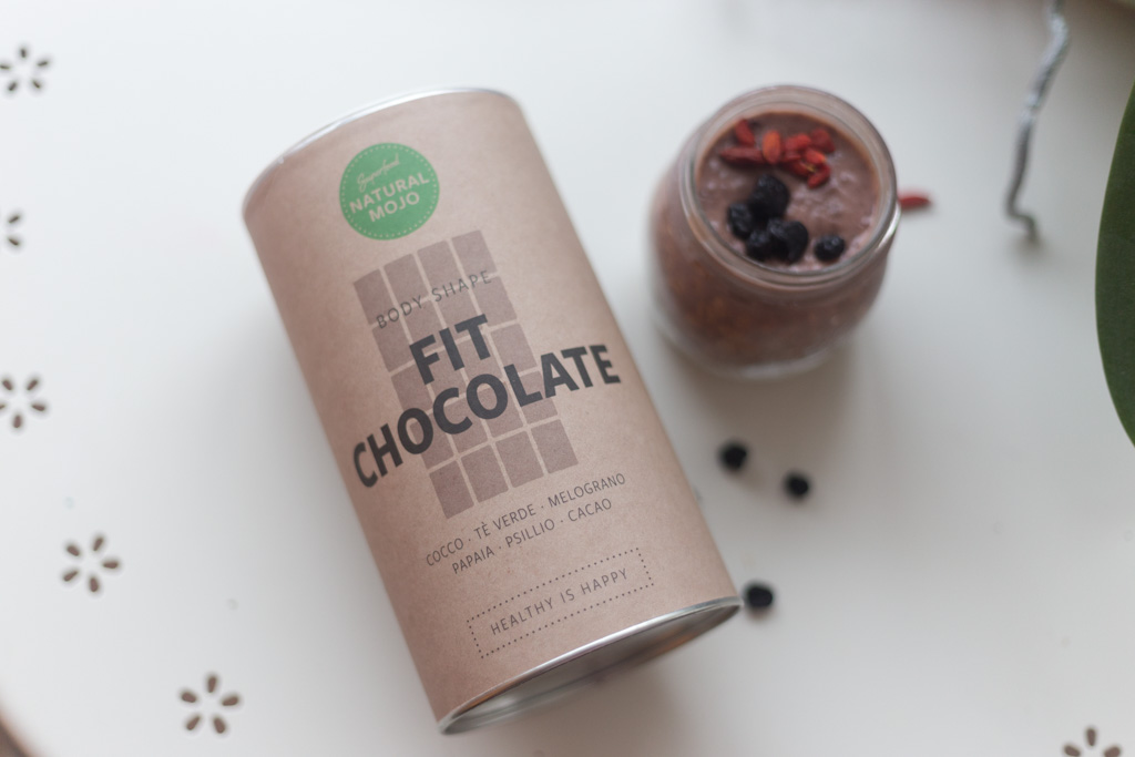 natural mojo overnight porridge fit chocolate