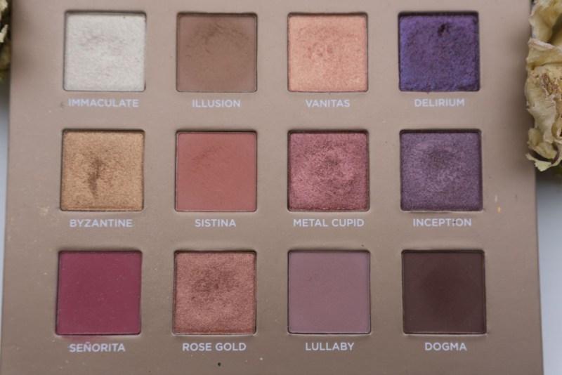 dreamy eyeshadow palette nabla