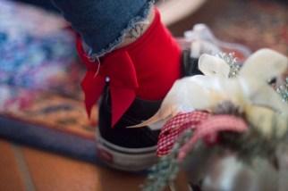 calzini con fiocco natale calzedonia