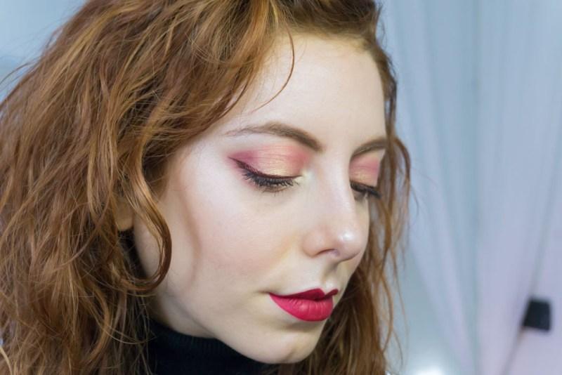 makeup natalizio con dreamy eyeshadow palette
