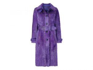 Ultra Violet Fashion cappotto in pelliccia