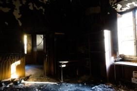 ville sbertoli pistoia incendiato