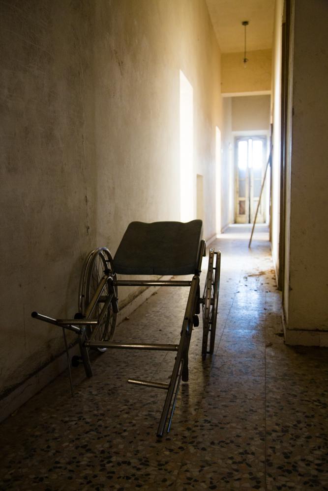 ville sbertoli pistoia sedia a rotelle