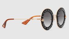 occhiali da sole gucci in acetato