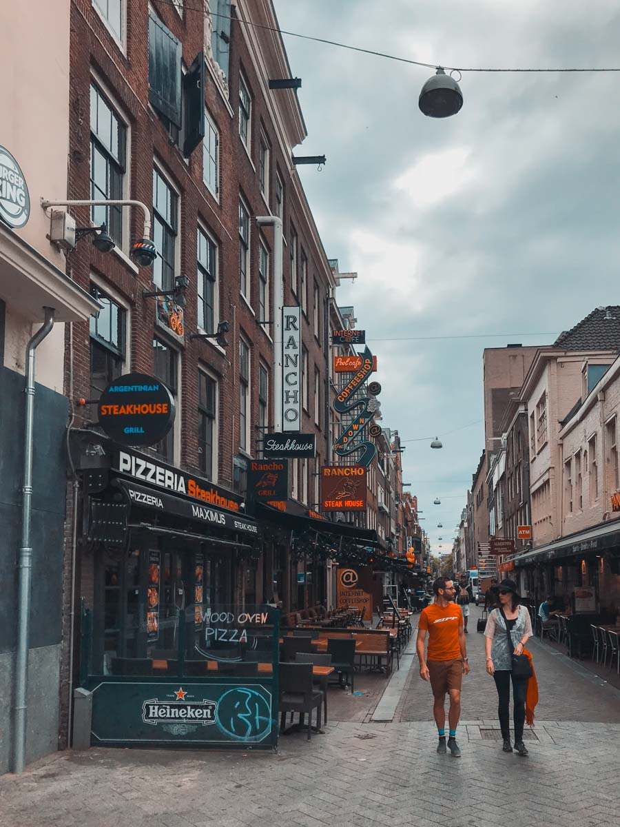 AMSTERDAM negozi e coffee shop