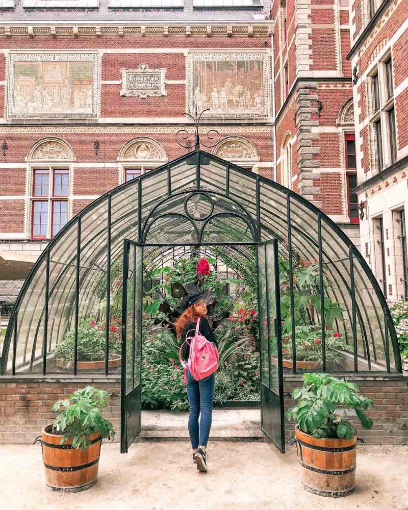 amsterdam rijkmuseum giardini