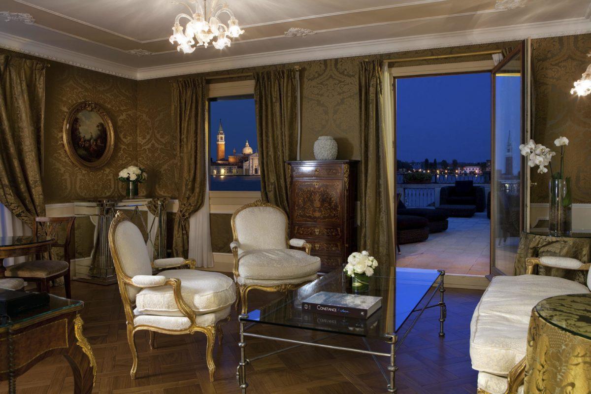 Baglioni Hotel Luna sansovino suite