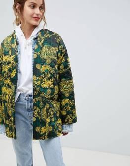 asos giacca stampa stile foulard