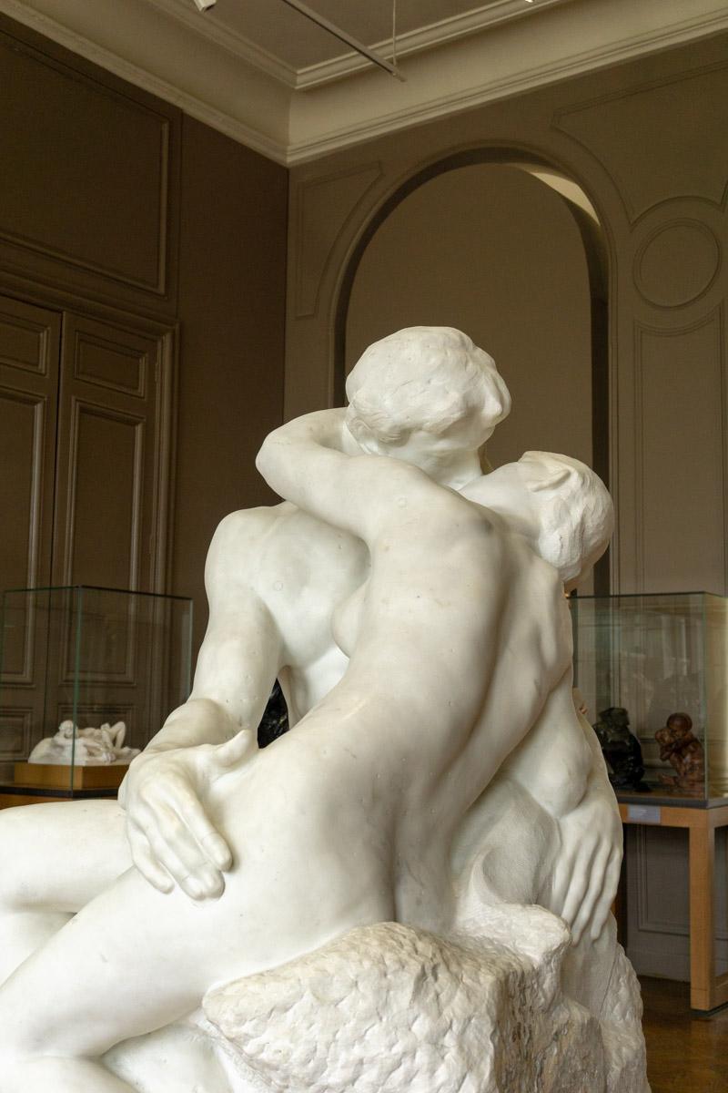 musèe rodin il bacio