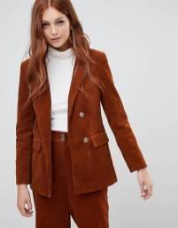 new look blazer velluto a coste
