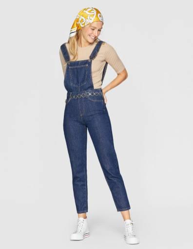 stradivarius tuta jeans
