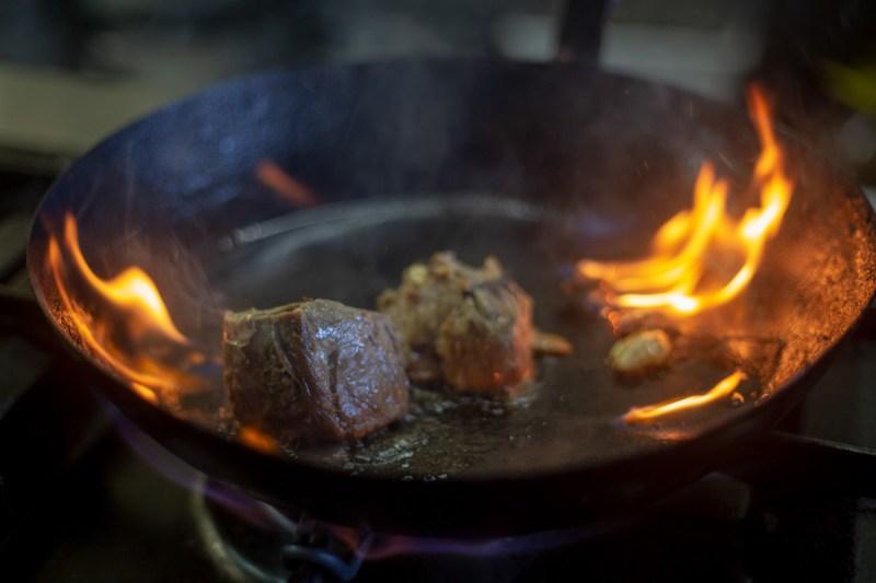 trattoria Officina dell'olio carne