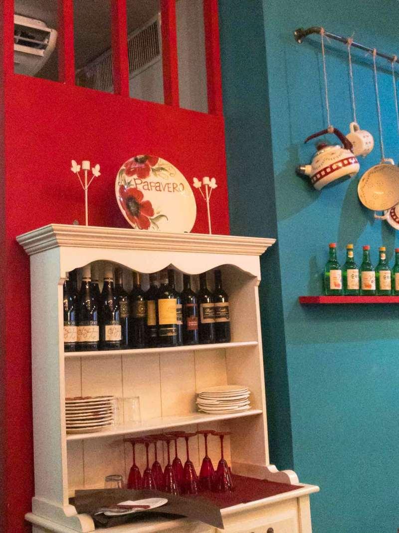 il papavero street gourmet interni
