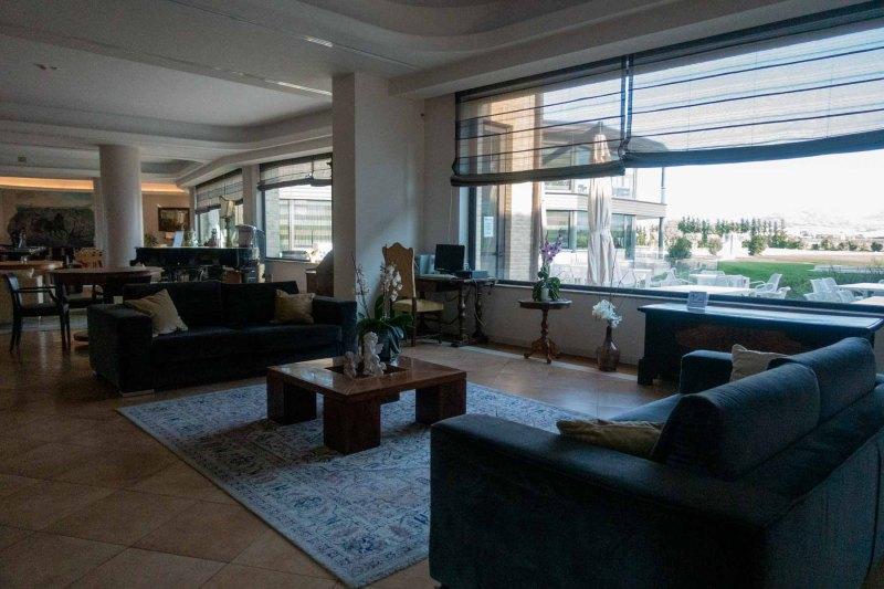 interni hall Valle di Assisi Hotel Spa & Golf