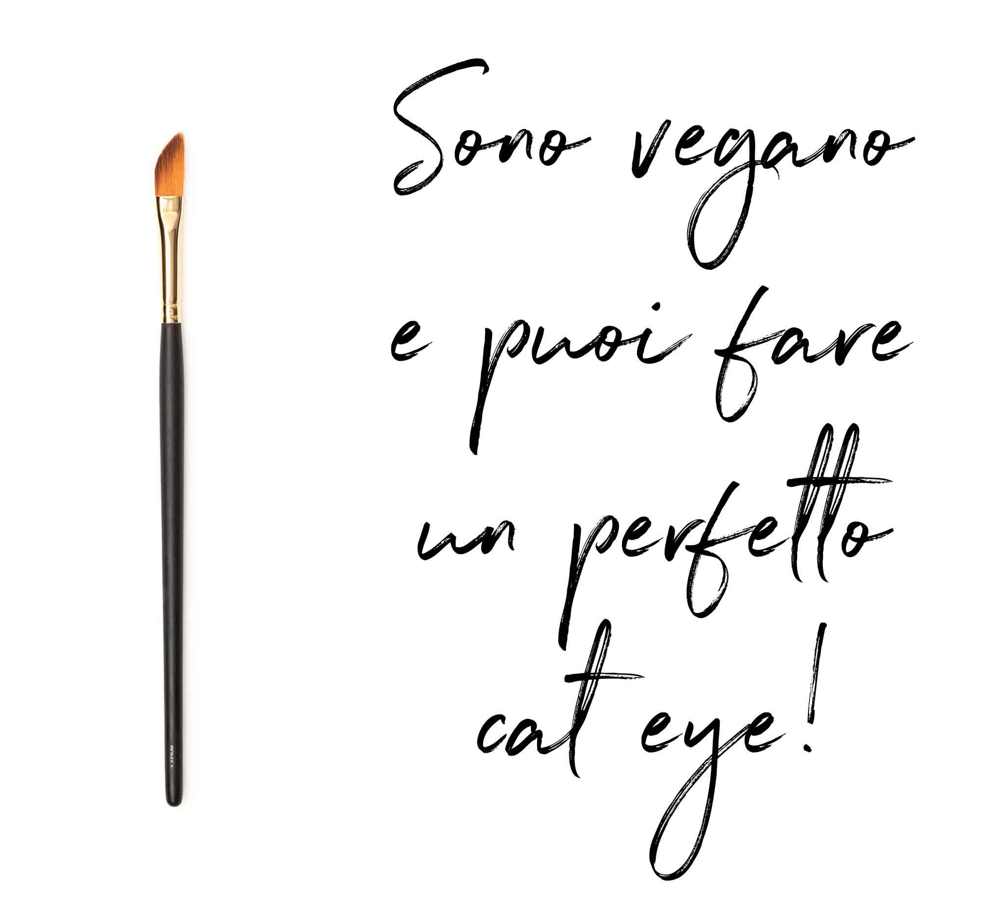 pennello cat eye vegano e cruelty free