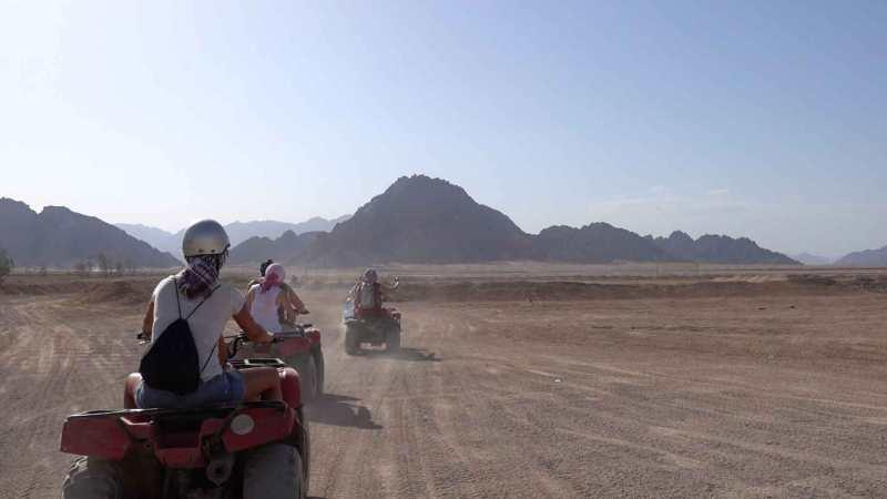 motorata nel deserto del sinai