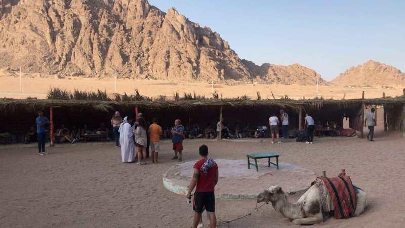 accampamento di beduini