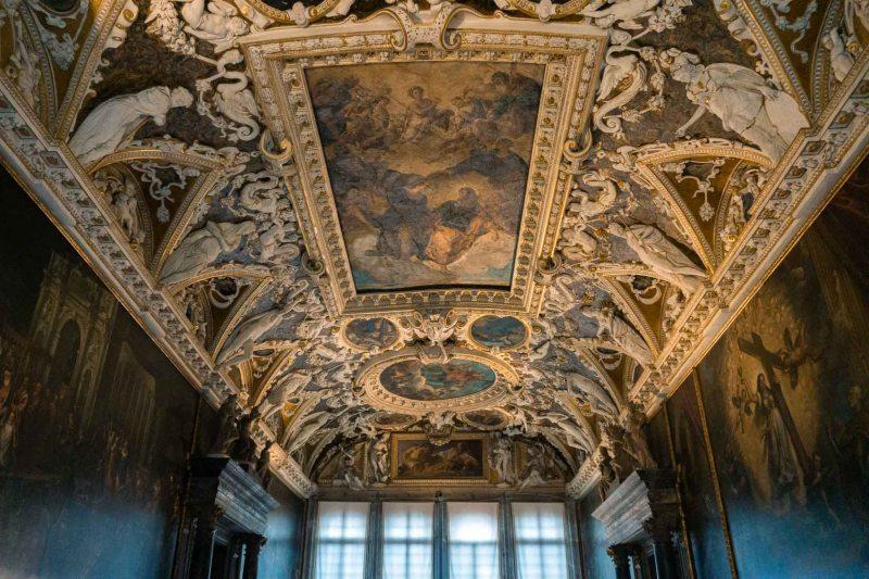 soffitti del museo di palazzo ducale