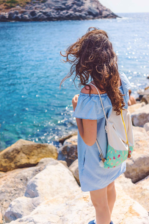 vestito leggero per il mare