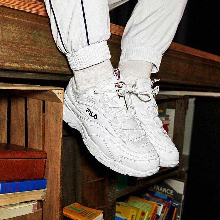scarpe fila con suola carro armato