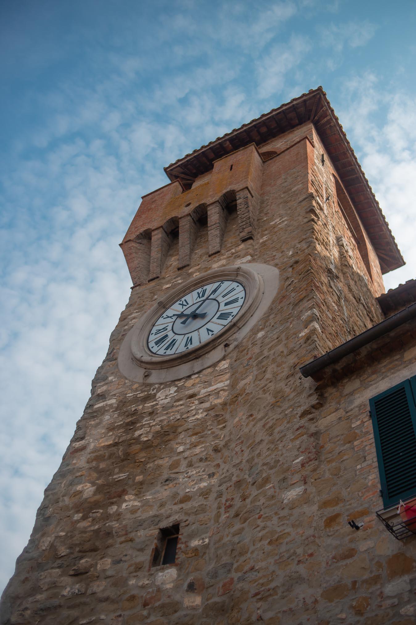 torre dell'orologio di passignano