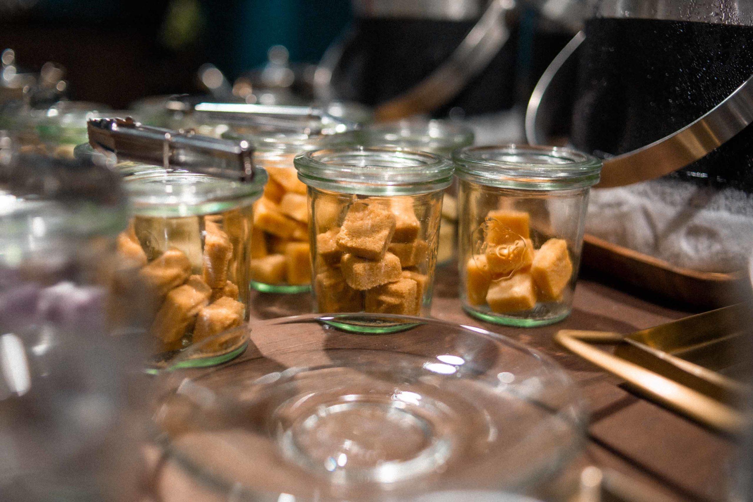 zollette di tè aromatico lush