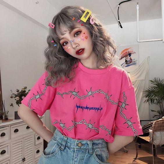 pink decora fashion