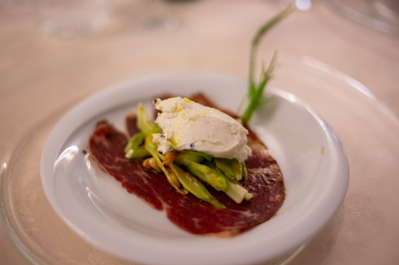 pre antipasto per la cena romantica nel san baronto