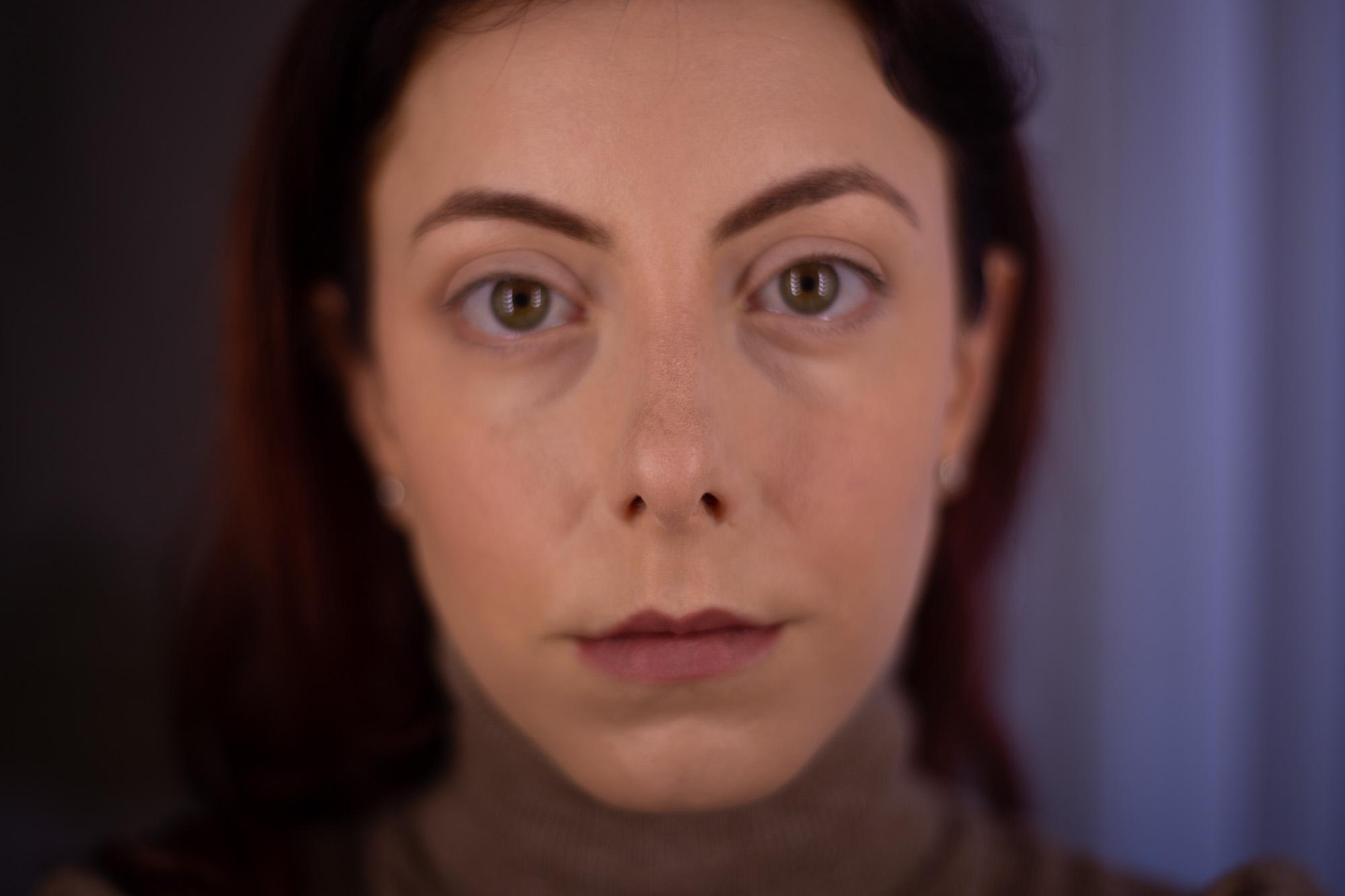 occhi senza mascara