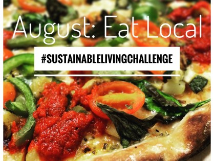 August Mission: Eat Local