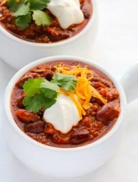 Classic Beef Chili (Chili con Carne)