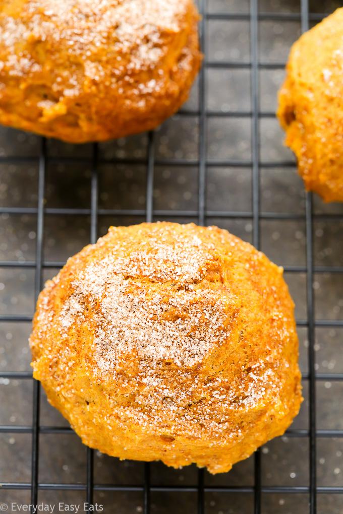 Easy Pumpkin Spice Cookies | Recipe at EverydayEasyEats.com