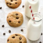 The only recipe for Chocolate Chip Cookies you will ever need! Soft, chewy and loaded with chocolate chips! | EverydayEasyEats.com