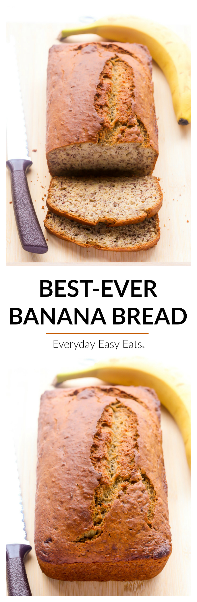 Best ever banana bread everyday easy eats everyday easy eats all photos and content are copyright protected please do not use any of my recipes text or images without prior permission forumfinder Images