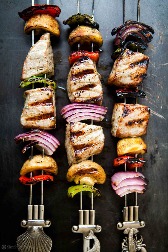 Healthy Grilling Recipes: Grilled Tuna Kebabs