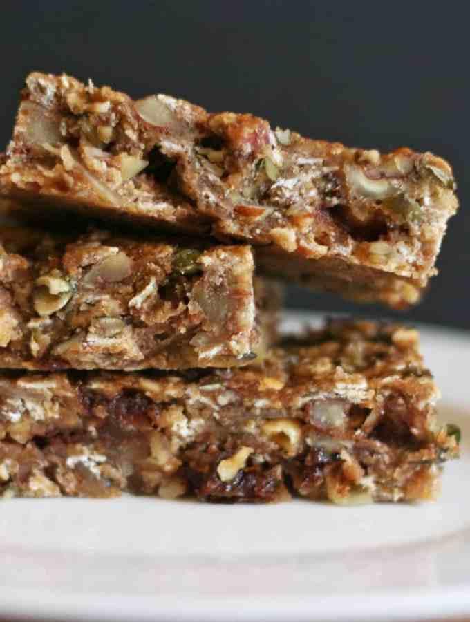 Honey-Nut Energy Bars