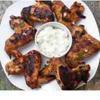 Grilled Spicy Chicken wings