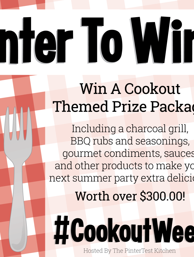Cookout Week with fabulous giveaways! #CookoutWeek