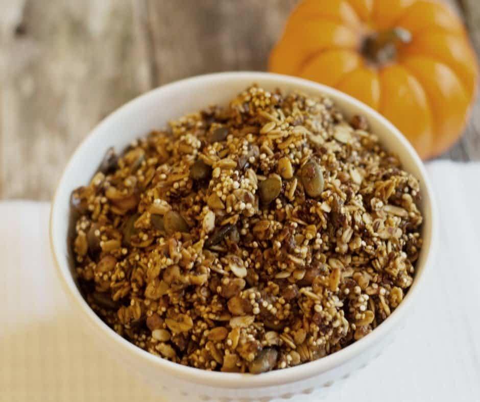 Healthy Pumpkin Granola