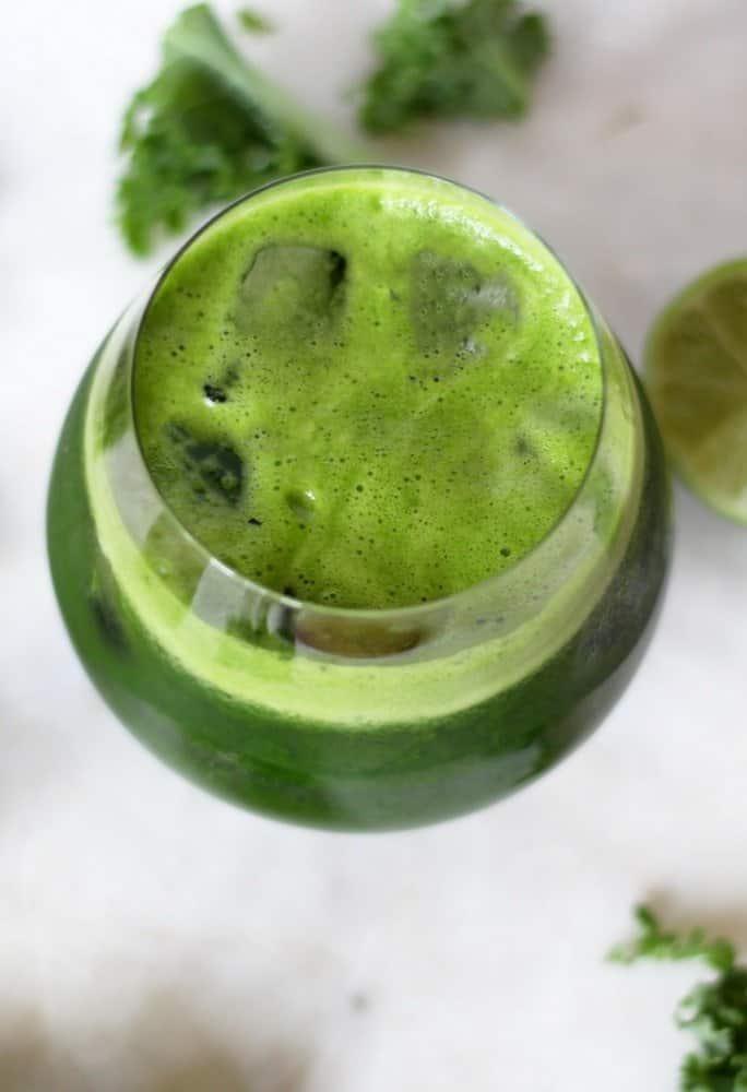 lean mean green detox juice