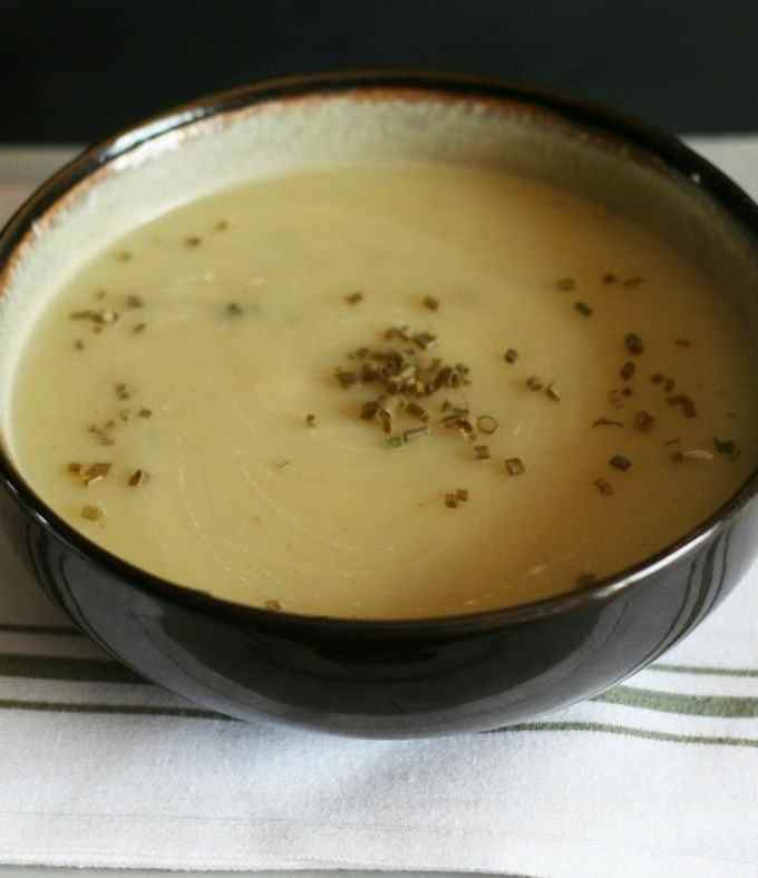 Low-fat Potato Leek Soup