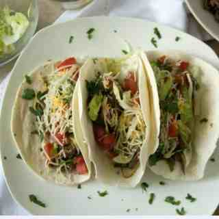 Easy Slow Cooker Mexican Shredded Beef Tacos
